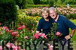Tralee Town Park Gardeners Lorna and Brendan Enright who are Retiring in August.