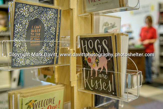 Plot Twist Bookstore owned by Mary Rork Watson of Altoona is open for business in Ankeny. The store also feature greeting cards.