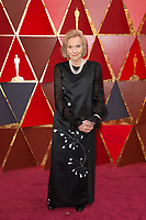 Eva Marie Saint arrives on the red carpet of The 90th Oscars&reg; at the Dolby&reg; Theatre in Hollywood, CA on Sunday, March 4, 2018.<br /> *Editorial Use Only*<br /> CAP/PLF/AMPAS<br /> Supplied by Capital Pictures