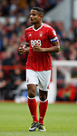 Michael Mancienne of Nottingham Forest during the Championship match at the City Ground Stadium, Nottingham. Picture date 30th September 2017. Picture credit should read: Simon Bellis/Sportimage