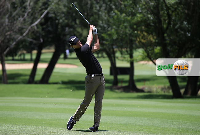 Jason Scrivenor (AUS) in action during Round Three of the 2016 BMW SA Open hosted by City of Ekurhuleni, played at the Glendower Golf Club, Gauteng, Johannesburg, South Africa.  09/01/2016. Picture: Golffile | David Lloyd<br /> <br /> All photos usage must carry mandatory copyright credit (&copy; Golffile | David Lloyd)
