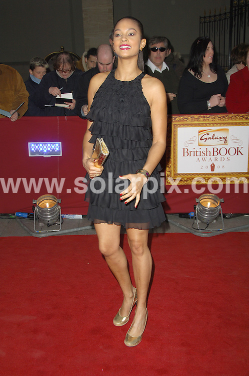 **ALL ROUND PICTURES FROM SOLARPIX.COM** **WORLDWIDE SYNDICATION RIGHTS** .Award winners and presenters attend the Galaxy British Book Awards 2008. Held at the Grosvenor, Park Lane, Mayfair, London. April 09 2008. .This pic: Alesha Dixon.JOB REF:   6139   MSR    DATE:  09.04.08.**MUST CREDIT SOLARPIX.COM OR DOUBLE FEE WILL BE CHARGED* *UNDER NO CIRCUMSTANCES IS THIS IMAGE TO BE REPRODUCED FOR ANY ONLINE EDITION WITHOUT PRIOR PERMISSION*