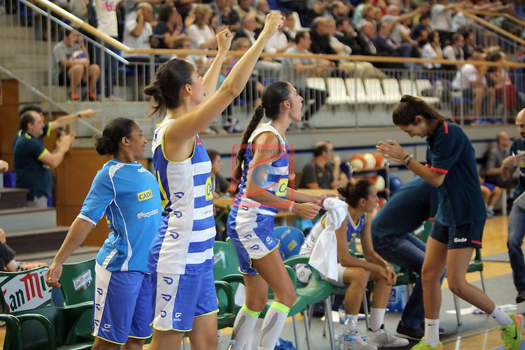 XXVIII Lliga Catalana Femenina 2016.<br /> Cadi La Seu vs Spar Citylift Girona: 71-57.