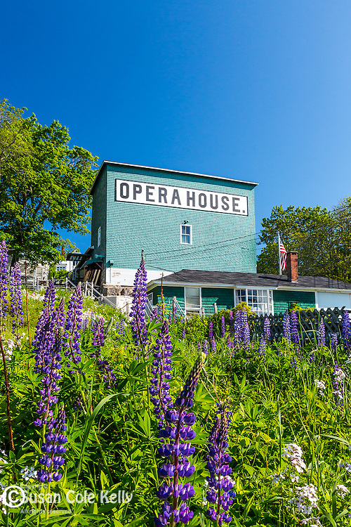 The Opera House in Stonington, Maine, USA