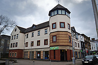 2019 11 19 A man collapsed while waiting for an appointment in a job centre in Llanelli, west Wales,