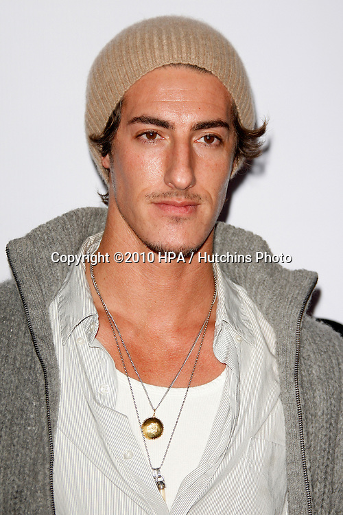 Eric Balfour.arriving at the Calvin Klein collection and LOS ANGELES NOMADIC DIVISION Present a Celebration of L.A. ARTS MONTH.Calvin Klein Store.Los Angeles, CA.January 28, 2010.©2010 HPA / Hutchins Photo....