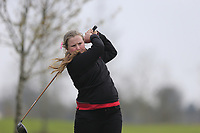 Harriet Lockley (England) during the second round of the Irish Girls' Open Stroke Play Championship, Roganstown Golf Club, Swords, Ireland. 14/04/2018.<br /> Picture: Golffile | Fran Caffrey<br /> <br /> <br /> All photo usage must carry mandatory copyright credit (&copy; Golffile | Fran Caffrey)