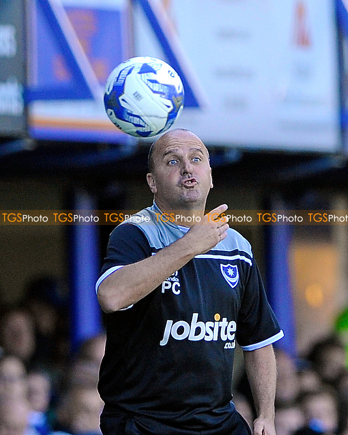 Portsmouth Manager Paul Cook during Portsmouth vs Barnet, Sky Bet League 2 Football at Fratton Park, Portsmouth, England on 12/09/2015