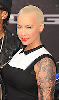 WWW.BLUESTAR-IMAGES.COM Model Amber Rose arrives at the 'Fast & The Furious 6' - Los Angeles Premiere at Gibson Amphitheatre on May 21, 2013 in Universal City, California..Photo: BlueStar Images/OIC jbm1005  +44 (0)208 445 8588 /©NortePhoto/nortephoto@gmail.com<br />