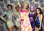 Brenda Dharling, Honey Davenport, Doris Dear, Jan Sport and Yuhua Hamasaki during the GLOW: 50 Years of Callen-Lorde at Union Park on May 31, 2019  in New York City.