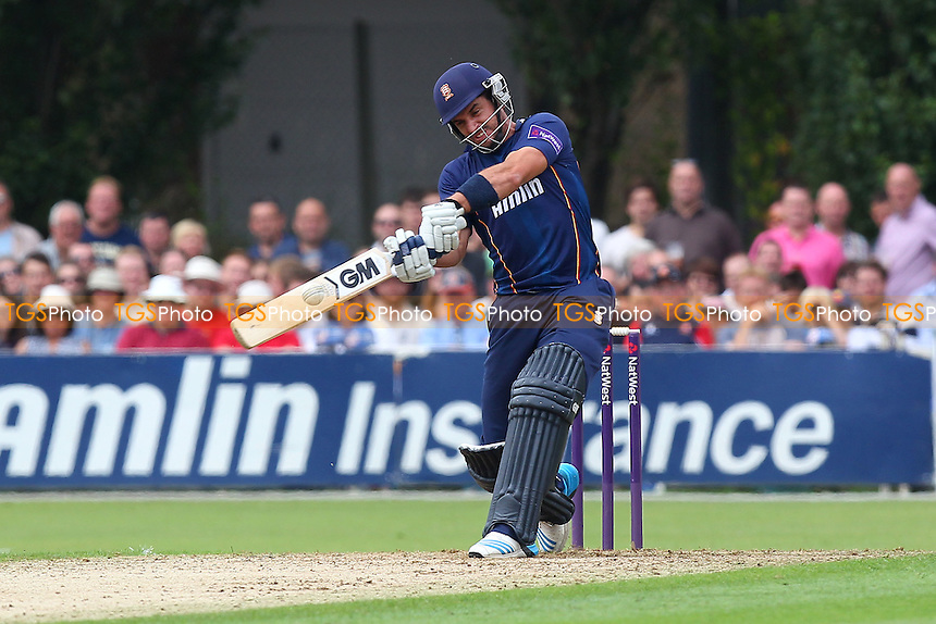 Six runs for Ryan ten Doeschate of Essex - Essex Eagles vs Kent Spitfires - NatWest T20 Blast Cricket at Castle Park, Colchester, Essex - 12/07/14 - MANDATORY CREDIT: Gavin Ellis/TGSPHOTO - Self billing applies where appropriate - contact@tgsphoto.co.uk - NO UNPAID USE