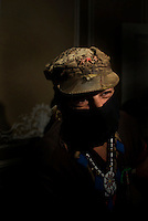 Subcomandante Marcos and other members of the EZLN at a confrence in Casa Lamm Mexico City, Monday, 1st of October, 2007