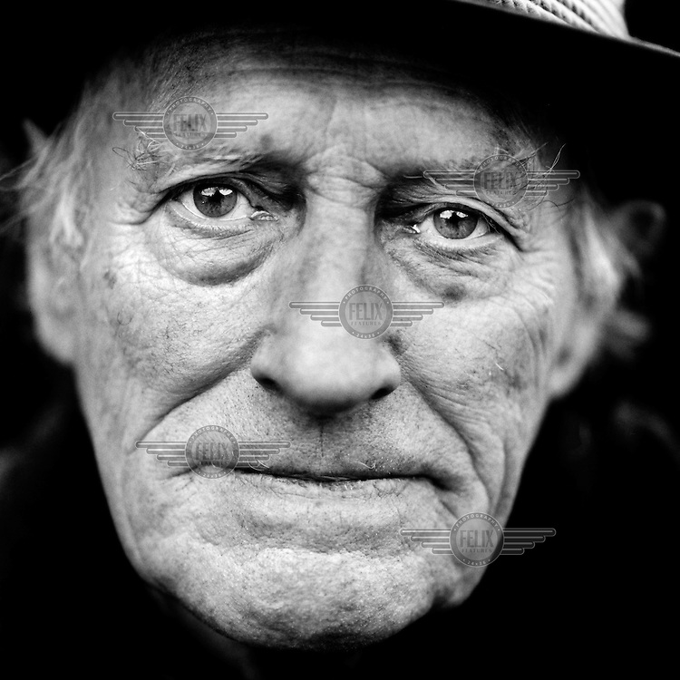 """Johannes Luxem (born 1924), a German veteran of World War II (WW2)..""""I spent four months in the American prisoner of war camp Remagen.  There were 160,000 men there.  It was cold, it was raining and we had no roof over our heads.  We dug trenches and covered them with a bit of cardboard or a jacket.  We were hungry.  Sometimes the American soldiers took our tins of food away to torment us. 'Vae victis', we used to say to each other: woe to the conquered.  They say that 1,200 Germans died at Remagen.  I don't know whether it was deliberate to give us so little to eat.  Some say that it was revenge, but it might just have been poor logistics.  I don't see it as a war crime in any event.  That's just the way it is for the losers, they have to put up with it."""".""""With hindsight, I do feel as if we were deceived.  We were young and idealistic and we believed what our leaders told us: Germany and the European culture had to be protected from Bolshevism.  But our trust was abused and we were led into a war of conquest.  We were, I think, too idealistic.  But what we had too much of, today's youth has too little.  No-one uses the word 'fatherland' any more.  Today's youngsters are really individualistic and have no sense of duty, only enjoyment.  Even so, Germany is a better country today.  It's good that we're now in the European Union, because that means there'll always be peace in Europe."""".. CHECK with MRM/FNA"""