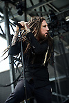 "Brian ""Head"" Welch of Love & Death performs during the 2013 Rock On The Range festival at Columbus Crew Stadium in Columbus, Ohio."