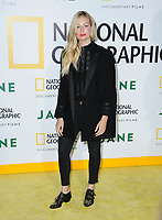 09 October  2017 - Hollywood, California - Beth Behrs. L.A. premiere of National Geographic Documentary Films' &quot;Jane&quot; held at Hollywood Bowl in Hollywood. <br /> CAP/ADM/BT<br /> &copy;BT/ADM/Capital Pictures