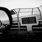 A sign marking the border between the United States and Mexico is seen on a bridge over the Rio Grande connecting Juarez, Chihuahua, with El Paso, TX, on Monday, Jan. 28, 2008.