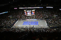 14 December 2006: The Qwest Center facility during Stanford's 30-12, 30-25, 30-15 win against the Washington Huskies in the 2006 NCAA Division I Women's Volleyball Final Four semifinal match at the Qwest Center in Omaha, NE.