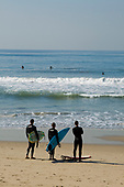 Venice Beach Surfers, Los Angeles, California, USA