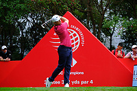 Alex Noren (SWE) on the 3rd tee  during the 1st round at the WGC HSBC Champions 2018, Sheshan Golf Club, Shanghai, China. 25/10/2018.<br /> Picture Fran Caffrey / Golffile.ie<br /> <br /> All photo usage must carry mandatory copyright credit (&copy; Golffile | Fran Caffrey)