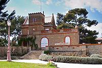 The main chateau building Chateau Vannieres (Vannières) La Cadiere (Cadière) d'Azur Bandol Var Cote d'Azur France