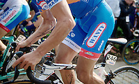 cycling tattoos for Bjorn Leukemans (BEL/Wanty-GroupeGobert)<br /> <br /> 57th E3 Harelbeke 2014