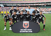 DC United Starting XI.  DC United defeated the Chicago Fire 2-1 at  RFK Stadium, Saturday June 13, 2009.