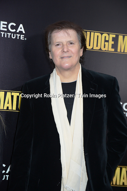 """Trevor Rabin attends the World Premiere of """"Grudge Match"""" at the Ziegfeld Theatre in New Yok City on December 16, 2013."""
