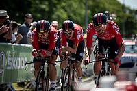 Stage 3 (Team Time Trial): Cholet > Cholet (35km)<br /> <br /> 105th Tour de France 2018<br /> ©kramon