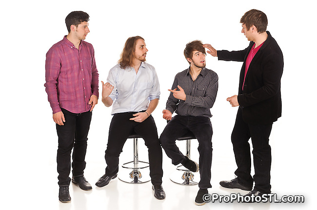 Makeshift Gentlemen band promo pics
