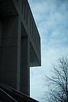 The Schmitt Academic Center (SAC) on DePaul University's Lincoln Park Campus February, 2018. (DePaul University/Jeff Carrion)