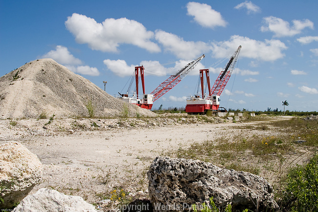 Limestone quarries can also impact the delicate balance of the Everglades ecosystems.