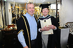 21/11/2014  Attending the Irish College of Humanities and Applied Science Conferrings in The Castletroy Park Hotel were Patricia Fyfe, who was conferred with a M.A in Clinical Supervision in Professional Practice, with Senior Lecturer Ailbe Coffey, Irish College of Humanities and Applied Science.<br /> Picture: Gareth Williams