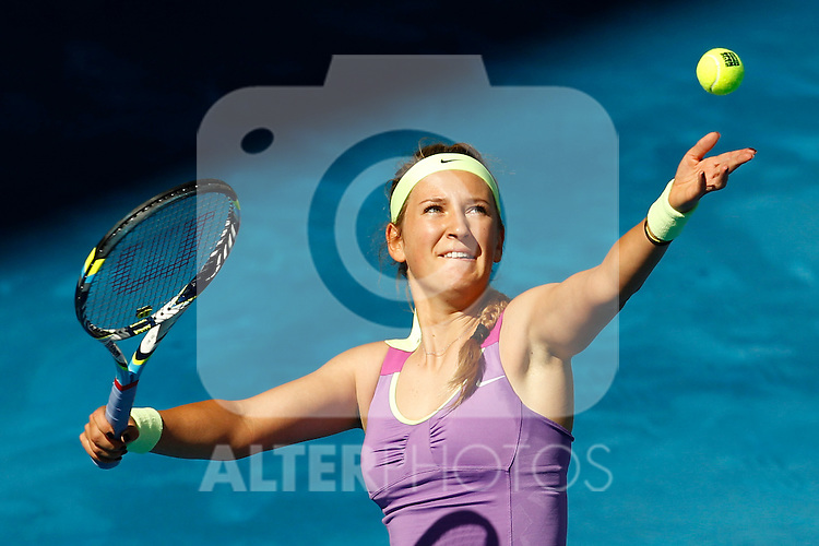 Victoria Azarenka (BLR) during Mutua Madrid Open 2012 match on may 6th 2012...Photo: Cesar Cebolla / ALFAQUI