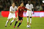 04 June 2008: Xavi (ESP) (8). The Spain Men's National Team defeated the United States Men's National Team 1-0 at Estadio Municipal El Sardinero in Santander, Spain in an international friendly soccer match.