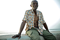 Images from the old Havana, Cuba, Latin America. ..Mario used to fish in the malecon.  Lately, due to his medical condition, he is no longer allowed to.  He still comes down every day, to get as close as he can to what he really likes.