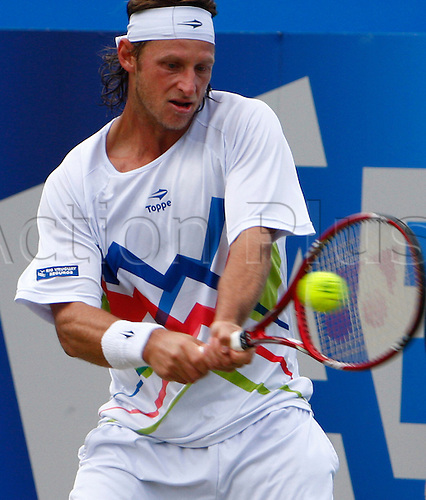 16.06.12 Queens Club, London, ENGLAND: .. David Nalbandian ARG..mens singles semi-final round match during Grigor Dimitrov BUL versus David Nalbandian ARG on day Six of the Aegon Championships at Queens Club ..on June 16, 2012 in London , England.........