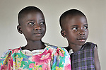 Girls in the Mary Morris Orphanage, run by the United Methodist Church in Kamina, Democratic Republic of the Congo.