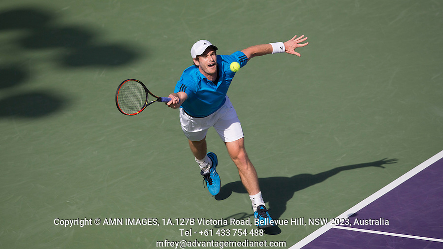 ANDY MURRAY (GBR)<br /> <br /> Tennis - Sony Open -  Miami -   ATP-WTA - 2014  - USA  -  26 March 2014. <br /> <br /> &copy; AMN IMAGES