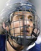 Phil DeSimone (UNH - 39) - The University of Notre Dame Fighting Irish defeated the University of New Hampshire Wildcats 2-1 in the NCAA Northeast Regional Final on Sunday, March 27, 2011, at Verizon Wireless Arena in Manchester, New Hampshire.