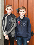 Matthew Byrne and Kyle Kierans who were confirmed at The Church of the Immaculate Conception Termonfeckin. Photo:Colin Bell/pressphotos.ie