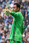 Goalkeeper Keylor Navas of Real Madrid gestures during their La Liga match between Real Madrid and Valencia CF at the Santiago Bernabeu Stadium on 29 April 2017 in Madrid, Spain. Photo by Diego Gonzalez Souto / Power Sport Images