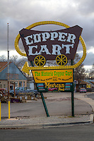 The Copper Cart Restaurant in Seligman Arizaona on Route 66.