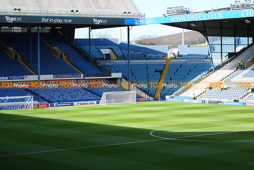 during Sheffield Wednesday vs Norwich City, Sky Bet EFL Championship Football at Hillsborough on 4th March 2017