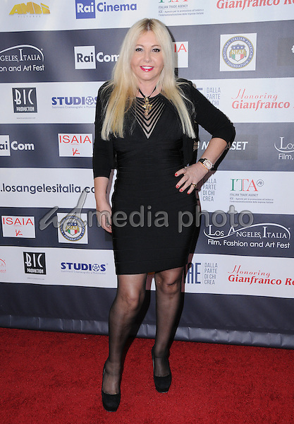 19 February 2017 - Hollywood, California - Monika Bacardi.  12th Annual Los Angeles - Italia Film Festival held at TCL Chinese 6 Theater. Photo Credit: Birdie Thompson/AdMedia
