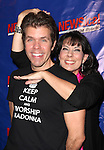 Christine Pedi & Perez Hilton attending the Opening Night Performance of Perez Hilton in 'NEWSical The Musical' at the Kirk Theatre  in New York City on September 17, 2012.