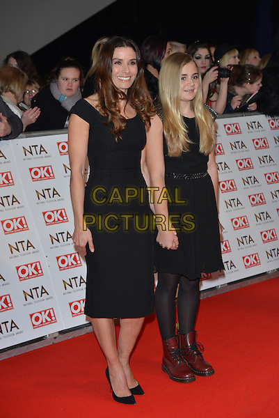 LONDON, ENGLAND - JANUARY 21: Tana Ramsey, Matilda Ramsey attend the National Television Awards at o2 Arena, Greenwich, London on January 21, 2015 in London, England<br /> CAP/PL<br /> &copy;Phil Loftus/Capital Pictures