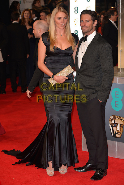 LONDON, ENGLAND - FEBRUARY 16: Jodie Kidd &amp; guest attends the EE British Academy Film Awards 2014 at The Royal Opera House on February 16, 2014 in London, England. <br /> CAP/PL<br /> &copy;Phil Loftus/Capital Pictures
