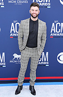07 April 2019 - Las Vegas, NV - Dylan Scott. 54th Annual ACM Awards Arrivals at MGM Grand Garden Arena. Photo Credit: MJT/AdMedia<br /> CAP/ADM/MJT<br /> &copy; MJT/ADM/Capital Pictures
