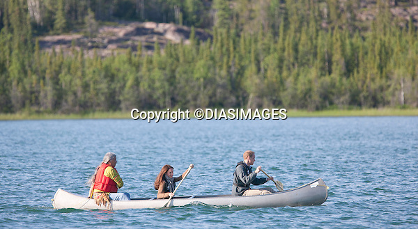 """PRINCE WILLIAM & KATE.canoe in Blachford Lake, while visiting the Canadian Rangers, North West Terrorities_05/07/2011.Mandatory Credit Photo: ©DIAS-DIASIMAGES..**ALL FEES PAYABLE TO: """"NEWSPIX INTERNATIONAL""""**..No UK Usage until 02/08/2011.IMMEDIATE CONFIRMATION OF USAGE REQUIRED:.DiasImages, 31a Chinnery Hill, Bishop's Stortford, ENGLAND CM23 3PS.Tel:+441279 324672  ; Fax: +441279656877.Mobile:  07775681153.e-mail: info@newspixinternational.co.uk"""