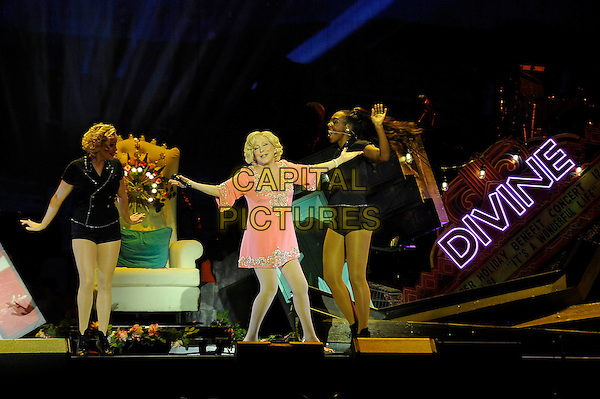 BIRMINGHAM, ENGLAND - JULY 9: Bette Midler performing at Barclaycard Arena on July 9, 2015 in Birmingham, England.<br /> CAP/MAR<br /> &copy; Martin Harris/Capital Pictures